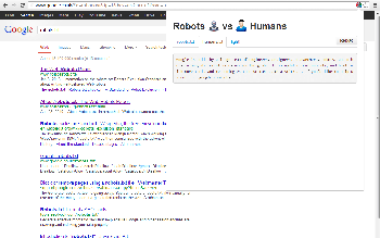 Viewing a humans.txt file
